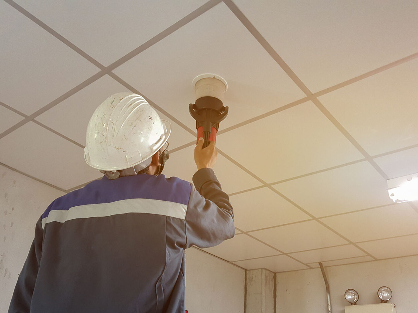Fire detection within hard facilities management upgrading adds exponential value